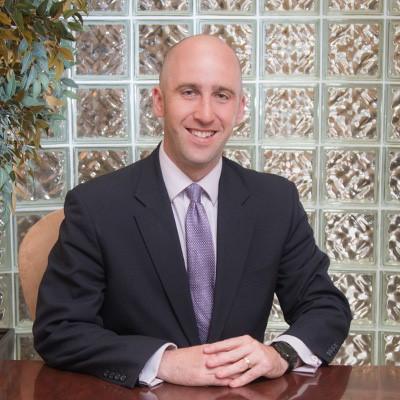 Evan Koslow in the office